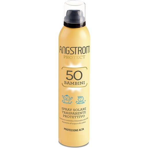 Angstrom Protect Bambini Spray Solare Trasparente 50
