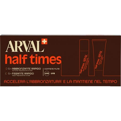 Arval Half Times Abbronzante Rapido Corpo SPF6