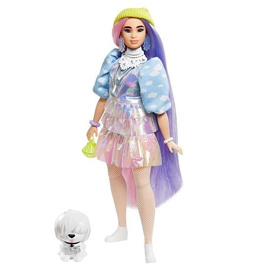 Barbie Extra con 10 accessori alla moda