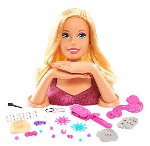 Barbie Testa Trucco da Acconciare