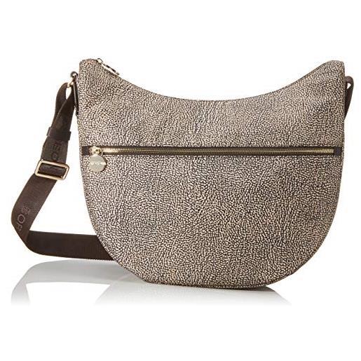 Borbonese Luna Bag Middle Nylon Jet Op