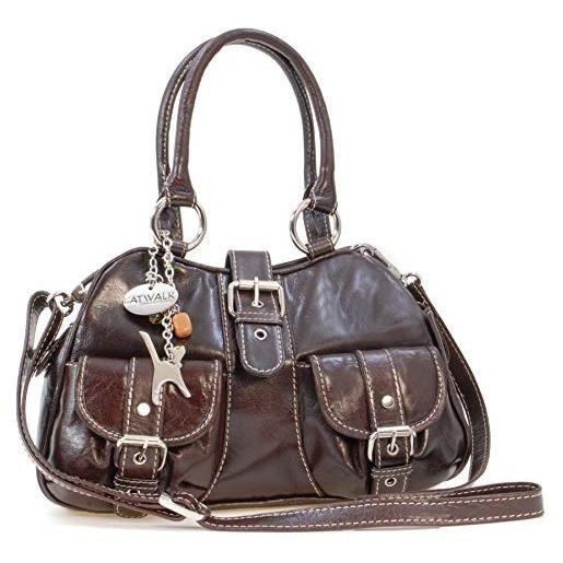 Catwalk Collection Handbags Faith Borsa a Spalla