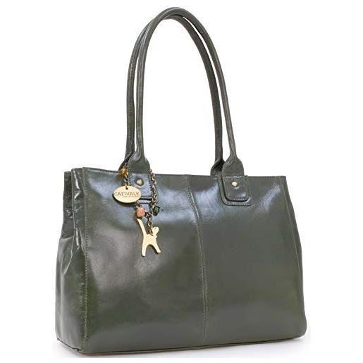 Catwalk Collection Handbags Kensington Borsa a Spalla