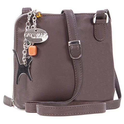 Catwalk Collection Handbags Lena Tracolla