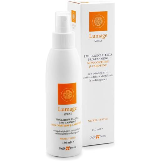 Cieffe Derma Lumage Spray Emulsione Fluida