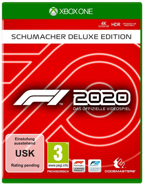 Codemasters F1 2020 - Schumacher Deluxe Edition
