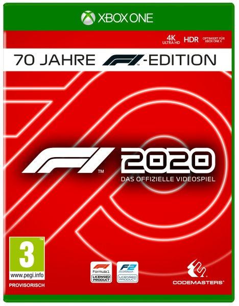 Codemasters F1 2020 - Seventy Edition