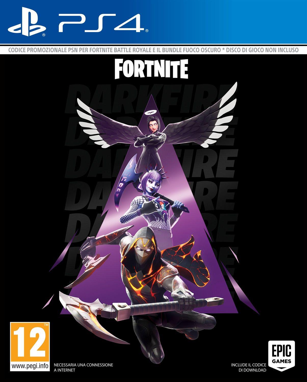 Epic Fortnite - Bundle Fuoco Oscuro