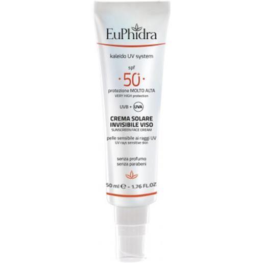 EuPhidra Crema Solare Invisibile Viso SPF50+