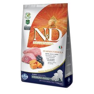 Farmina N&D Pumpkin Puppy Medium Maxi (Agnello Zucca e Mirtilli) - secco