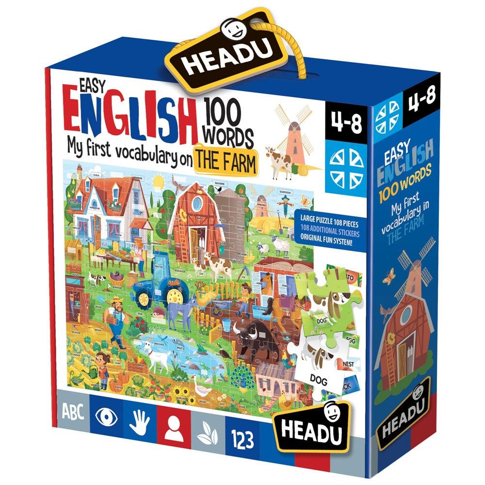 Headu Easy English 100 Words
