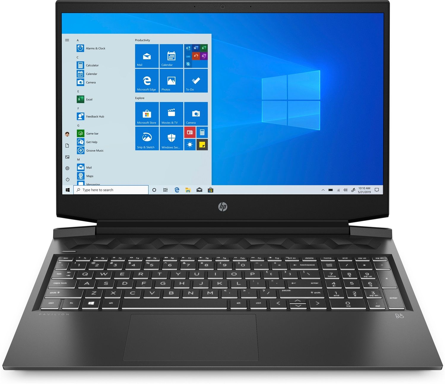 HP Pavilion Gaming 16-a0020nl