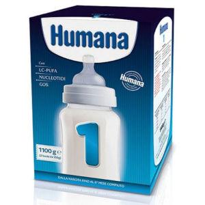 Humana 1 latte polvere