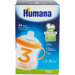 Humana 3 latte polvere