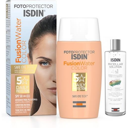 Isdin Fotoprotector Pack Fusion Water Color + Micellar Solution