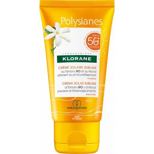 Klorane Les Polysianes Crema Solare Sublime SPF50+