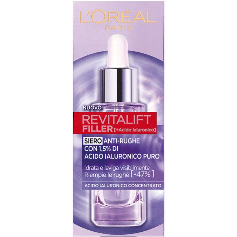 L'Oréal Revitalift Filler + Acido Ialuronico Siero Antirughe