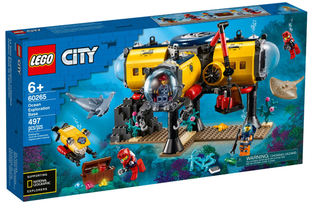 Lego City 60265 Base per esplorazioni oceaniche