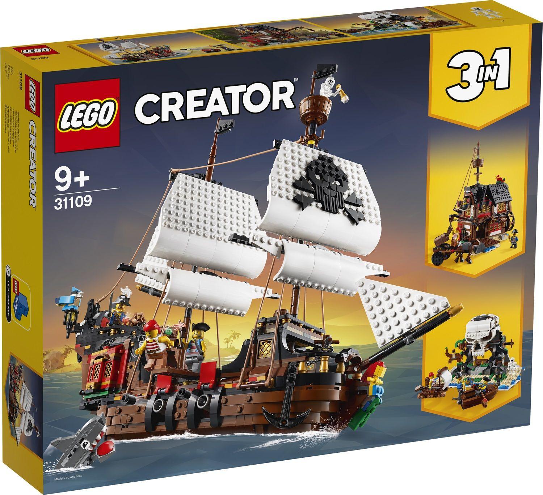 Lego Creator 31109 Galeone dei pirati
