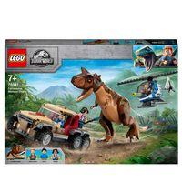 Lego Jurassic World 76941 L'inseguimento del dinosauro Carnotaurus