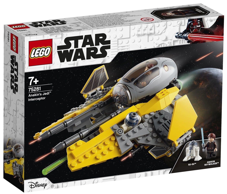 Lego Star Wars 75281 Jedi Interceptor di Anakin