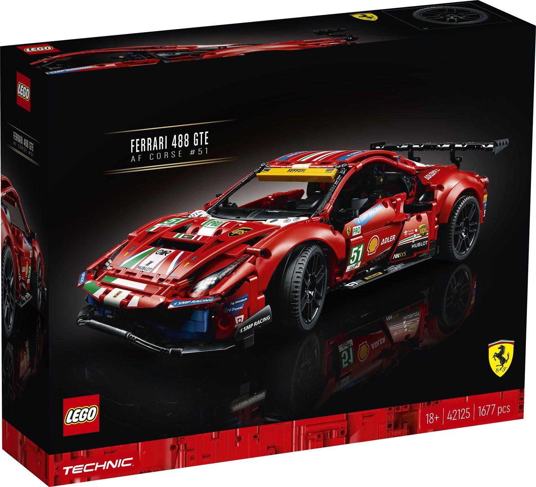 Lego Technic 42125 Ferrari 488 GTE AF Corse #51
