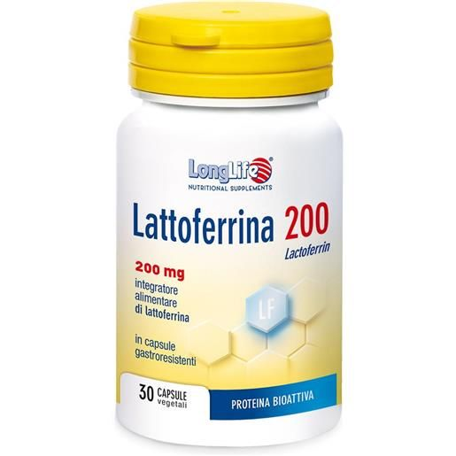 LongLife Lattoferrina 200 200mg
