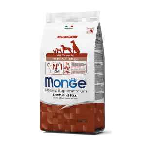 Monge All Breeds Puppy & Junior (Agnello e Riso) - secco