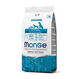Monge Natural Superpremium All Breeds (Salmone e Tonno) - secco