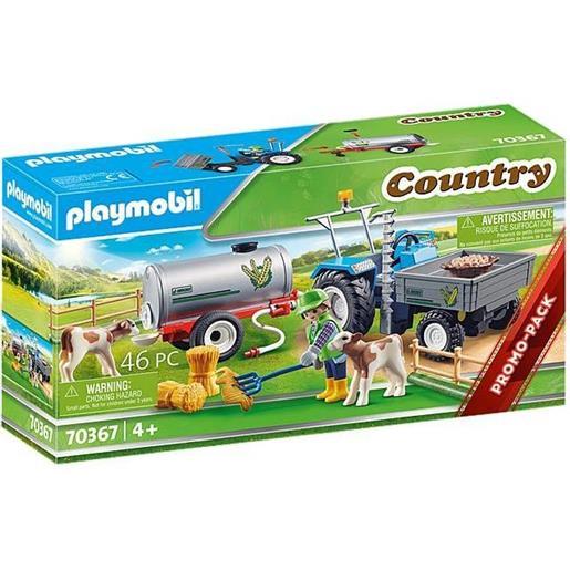 Playmobil Country Trattore con serbatoio d'acqua