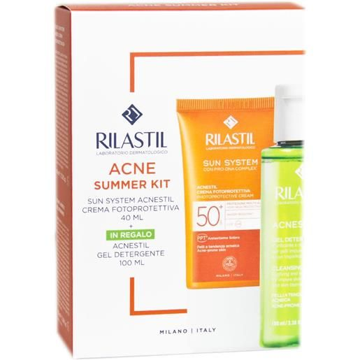 Rilastil Sun System Acne Summer Kit