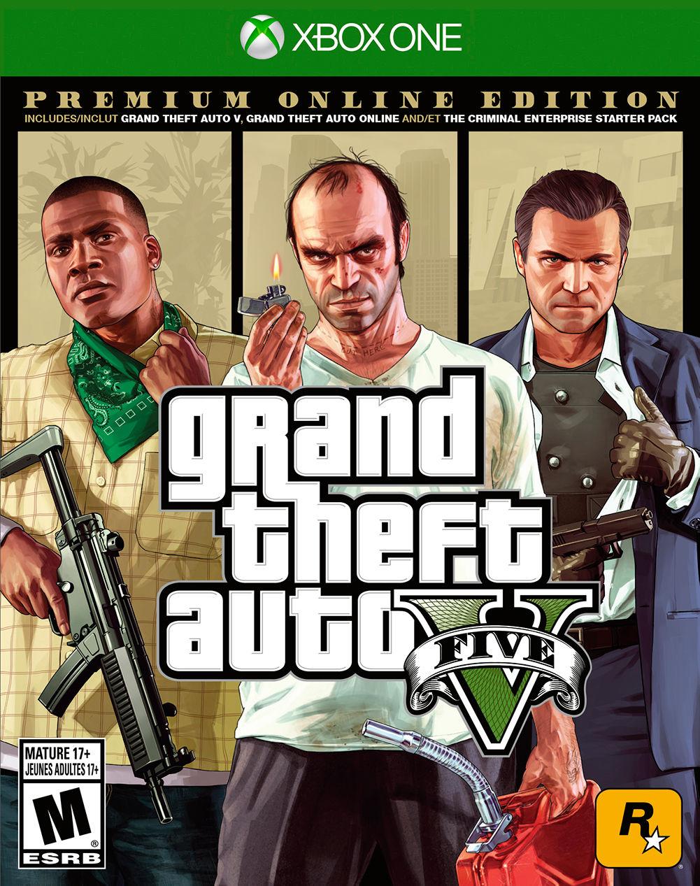Rockstar Games Grand Theft Auto V: Premium Online Edition