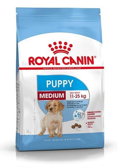 Royal Canin Medium Puppy (Ex Medium Junior) - (Mais Maiale Trinciapollo Vegetale) - secco
