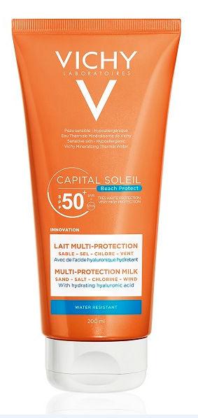 Vichy Capital Soleil Beach Protect Latte Multiprotezione SPF50+