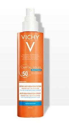 Vichy Capital Soleil Beach Protect Spray Anti-disidratazione SPF50+