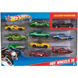 Mattel 10 veicoli 54886