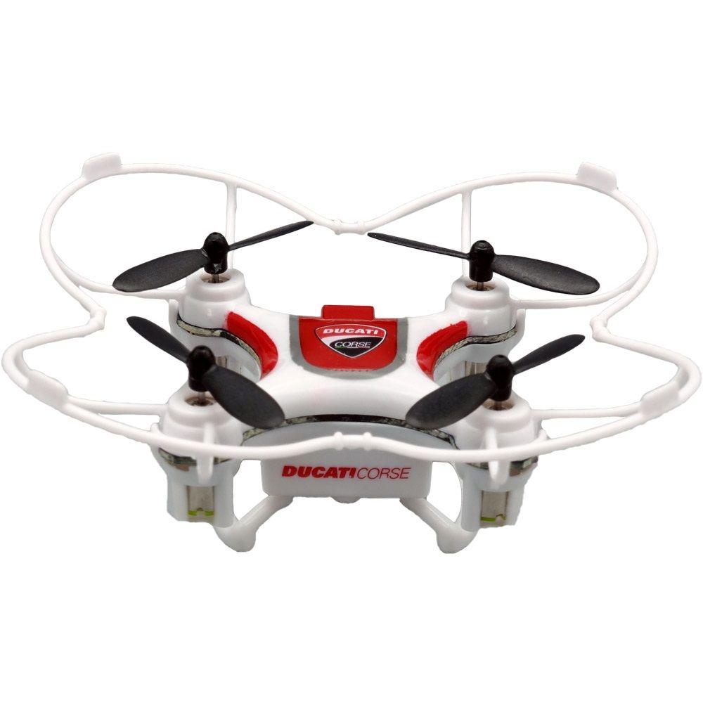 Dromocopter Ducati corse 4 drone bianco