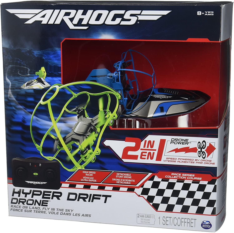 Spin Master Air hogs hyper drift drone colori assortiti