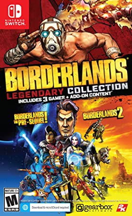 2K Borderlands - Legendary Collection Switch