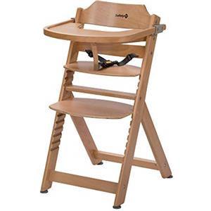 Safety 1st Seggiolone Timba con vassoio in legno natural
