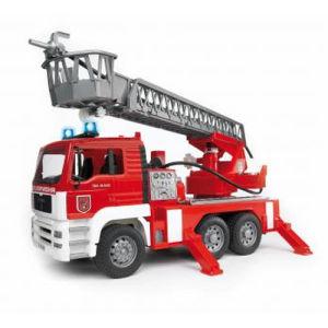 Bruder Man autopompa pompieri luci e suoni