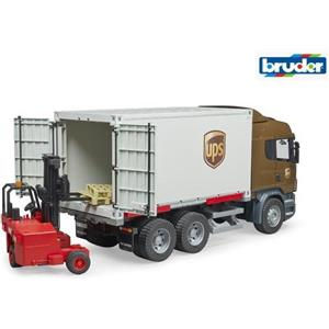 Bruder Scania r-series camion ups con 3581