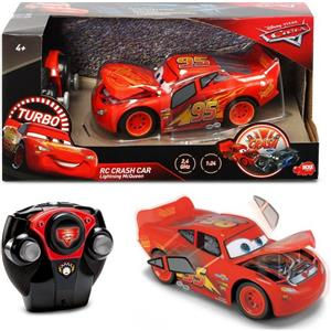 Simba Rc cars 3 saetta mcqueen crazy crash 1:24