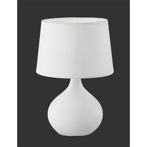 Trio Lighting Lampada da tavolo martin bianca x 20cm r50371001 e14 attacco 29