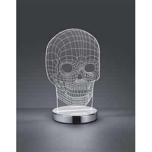 Trio Lighting Skull R52461106 lampada da tavolo LED