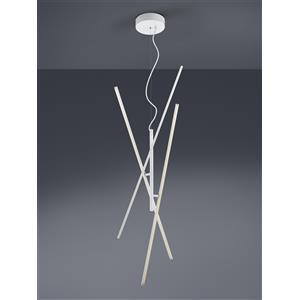 Trio Lighting Tiriac 371610331 lampada LED a sospensione bianco
