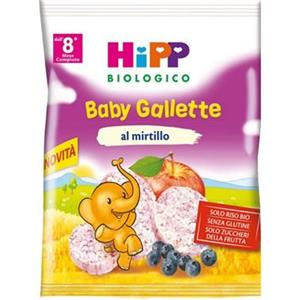 HiPP Gallette di riso al mirtillo 30g