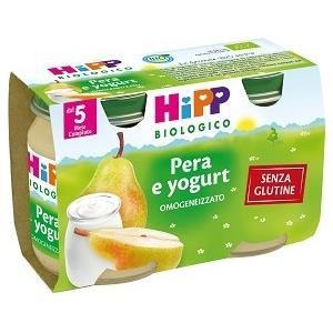 HiPP Omogeneizzato pera e yogurt 2x125g