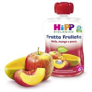 HiPP Frutta frullata mela, mango e pesca