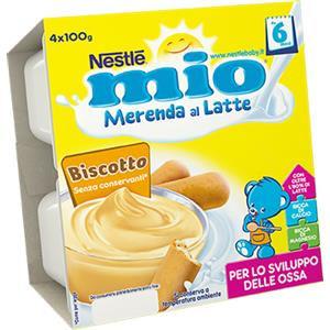 Nestlé Mio merenda latte e biscotto 4x100g